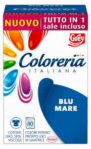 GREY Coloreria italiana tutto in 1 blu mare