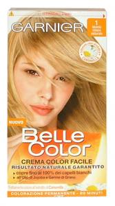 BELLE COLOR 1 Biondo Chiaro Naturale Prodotti per capelli