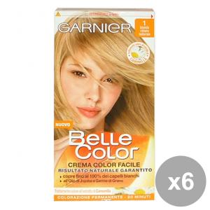 Set 6 BELLE COLOR 1 Biondo Chiaro Naturale Prodotti per capelli