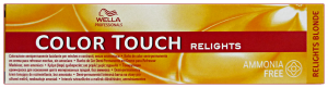 COLOR TOUCH Professionale RELIGHTSenza-03 Naturale Dorato Colorazione capelli