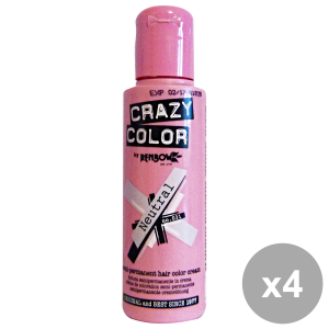 Set 4 CRAZY COLOR 31 NeutraL 100 Ml. Prodotti per capelli
