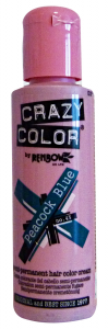CRAZY COLOR 45 PEACOCK BLUE 100 Ml. Colorazione capelli