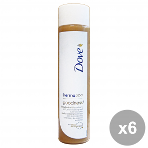 DOVE Set 6  Olio Corpo Dermaspa Goodness3 150 Ml.  Cura Del Corpo