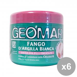 Set 6 GEOMAR Fango D' Bianca 500 ML Cura del corpo