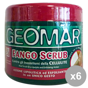 Set 6 GEOMAR Fango Scrub 600 Gr. Cura del corpo
