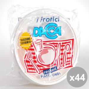 Set 44 DACCA Fondo Dm 20 5 Bianco 30 Pezzi - Accessori