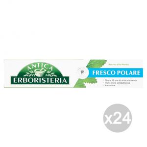 Set 24 ANTICA ERBORISTERIA Dentifricio 75 Ml Fresco Polare Menta Cura E Igiene Dentale