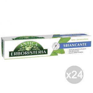 Set 24 ANTICA ERBORISTERIA Dentifricio 75 Ml Sbiancante Salvia/Menta Cura Igiene Dentale