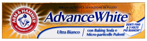 ARM & HAMMER Dentifricio ADVANCE WHITE Ultra Bianco 75 Ml. Prodotti per denti e viso