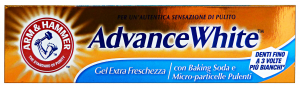 ARM & HAMMER Dentifricio ADVANCE WHITE Gel Freschezza 75 Ml. Prodotti per denti e viso