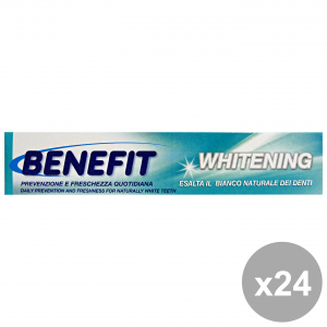 Set 24 BENEFIT Dentifricio 75 Ml. WHITENING Prodotti per il viso