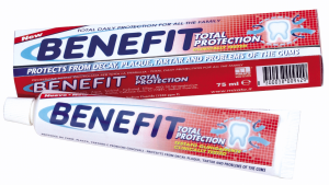 BENEFIT Dent.75 ml.total protection - Dentifricio