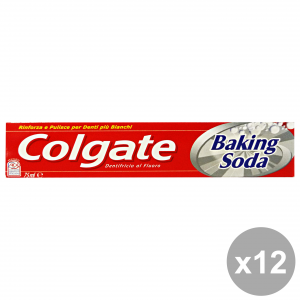 Set 12 COLGATE Dentifricio BAKING SODA 75 Ml.  Prodotti per il viso