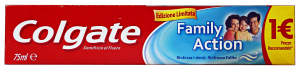 COLGATE Dentifricio family action 75 ml. - dentifrici