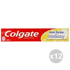 Set 12 COLGATE Dentifricio AntiTARTARO WHITENING 75 Ml.  Prodotti per il viso