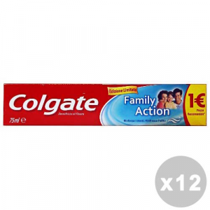 COLGATE Set 12 COLGATE Dentifricio family action 75 ml. - dentifrici