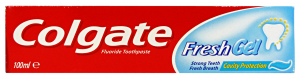 COLGATE Dentifricio fresh gel 100 ml. - Dentifricio