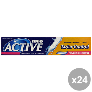 Set 24 DEFEND Dentifricio ACTIVE TARTAL Control 75 Ml.  Prodotti per il viso