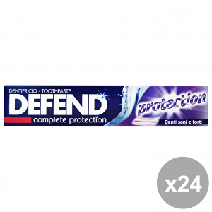 Set 24 DEFEND Dentifricio PROTECTION 75 Ml. Prodotti per il viso