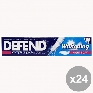 Set 24 DEFEND Dentifricio WHITENING 75 Ml. Prodotti per il viso