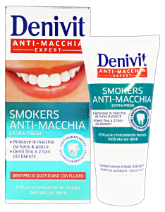 DENIVIT Dentifricio smokers anti-macchia 50 ml. - dentifrici