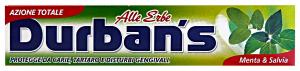 DURBAN'S Dentifricio erbe menta/salvia 75 ml. - dentifrici