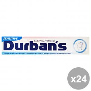 Set 24 DURBAN'S Dentifricio Sensitive 75 Ml. Prodotti per il viso