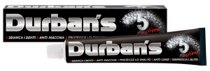 DURBAN'S Dentifricio 5 actions 75 ml. - Dentifricio