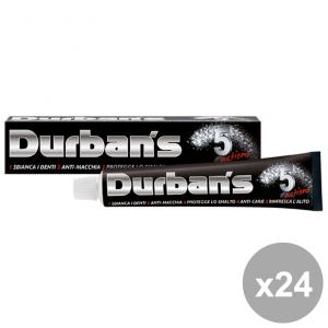 Set 24 DURBAN'S Dentifricio 5 ActionS 75 Ml. Prodotti per il viso