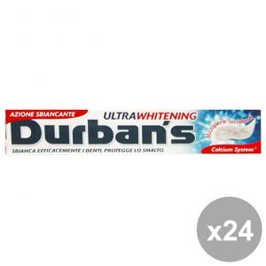 Set 24 DURBAN'S Dentifricio WHITENING 75 Ml. Prodotti per il viso
