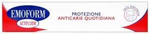 EMOFORM Dentifricio protezione anticarie actifluor 75 ml.