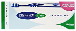 EMOFORM Dent.sensibili + spazzolino - Dentifricio