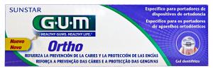 GUM Dentifricio Gel ORTHO Per APPARECCHI 75 Ml. Prodotti per denti e viso