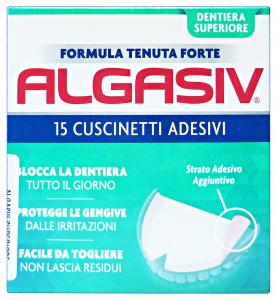 ALGASIV Cuscinetti Adesivi SuperIORE X15 Pezzi Prodotti per denti e viso