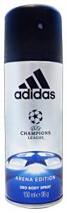 ADIDAS Deodorante spray uefa arena edition 150 ml.