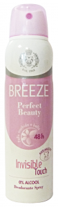BREEZE Deodorante Spray Perfect Beauty 150 Ml. - Deodorante Femminile E Unisex