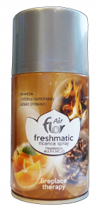 AIR FLOR Ricarica 250 ml. fireplace therapy deodorante casa