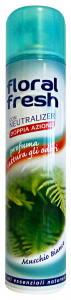 FLORAL Fresh Spray Muschio Bianco Deodorante  Candele e Profumatori