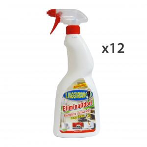 Set 12 IL MAGGIORDOMO Elimina Odori X Tessuti TRIGGER 750 Ml. Riordino