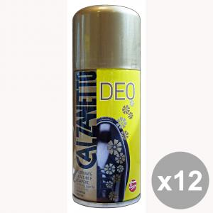 Set 12 CALZANETTO Deodorante Scarpiere-Calzature Antisettico 150 Ml. Attrezzi Pulizie