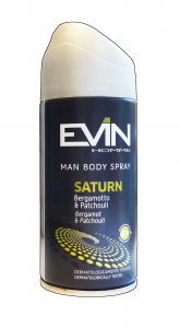 EVIN Deodorante spray uomo saturn 150 ml. - deodoranti donna