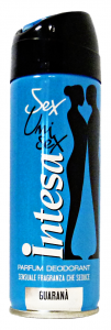 INTESA Deodorante Spray Unisex Guarana'125 Ml. Deodorante Femminile E Unisex