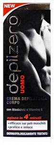 DEPILZERO Crema corpo uomo 200 ml. - Depilatori