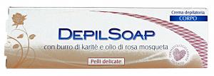 DEPILSOAP Crema Corpo Pelli Delicate 150 Ml. Cura del corpo