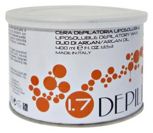 DEPILIA Cera barat.olio di argan 400 ml. - Depilatori