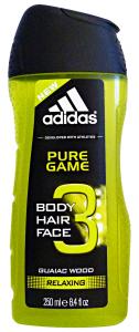 ADIDAS  Doccia Shampoo Pure Game 250 Ml. Doccia Schiuma