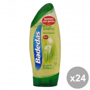Set 24 BADEDAS Doccia Shampoo RIEQUILIBRANTE 250 Ml.  Saponi e cosmetici