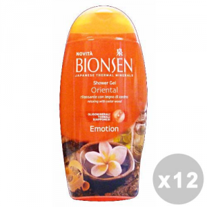 BIONSEN Set 12 BIONSEN Doccia oriental emotion 250 ml. - doccia schiuma