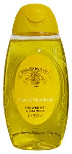 COMPAGNIA DELLE INDIE doc/Shampoo fior di mandorla 250 ml. - Doccia schiuma