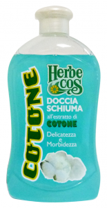 HERBECOS Doccia cotone 500 ml. - Doccia schiuma